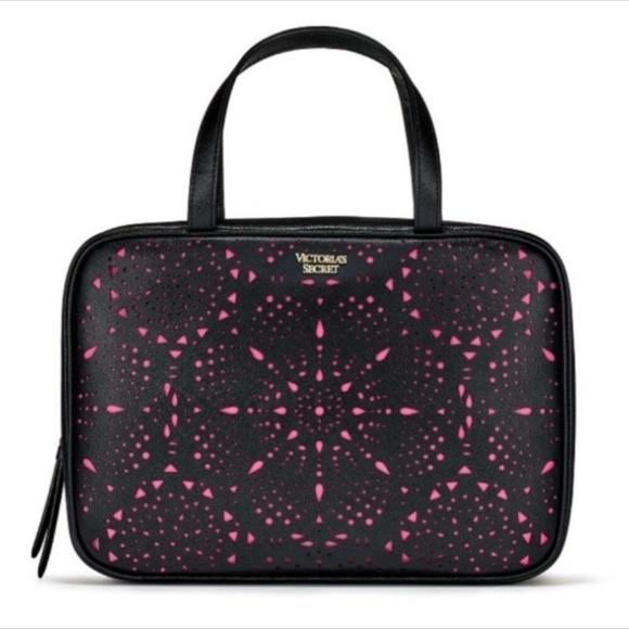 Victoria's Secret Handbags - Victoria's Secret Laser Cut Jetsetter Travel Case